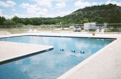 Rio Guadalupe Resort RV Park Swimming Pool