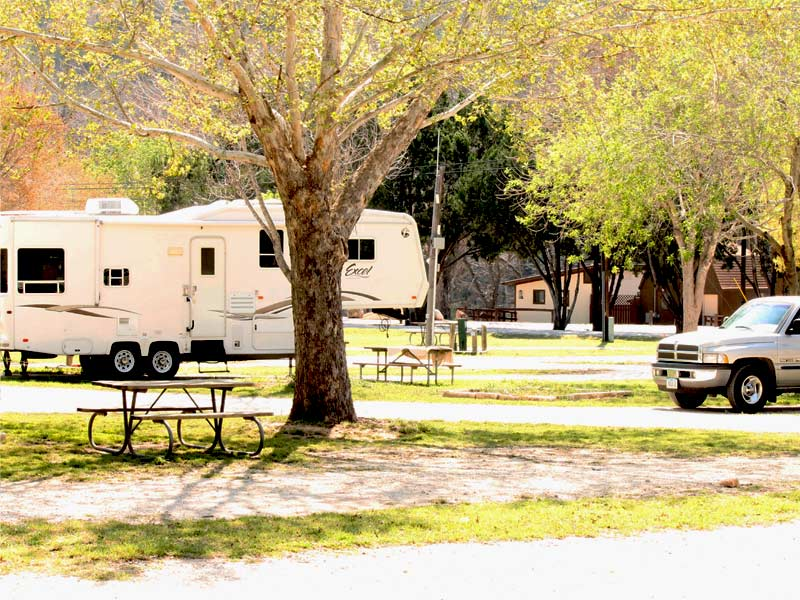 Guadalupe River Campgrounds - Texas RV Parks - Rio Guadalupe Resort