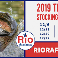 TPWD Trout Stocking Dates 2019