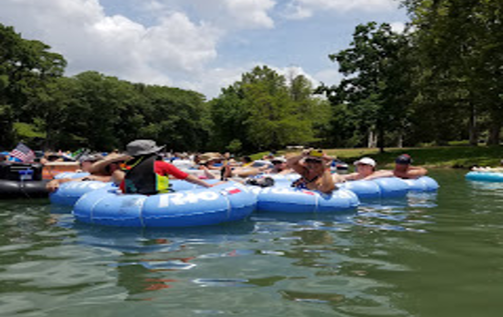 Tubing in Guadalupe River